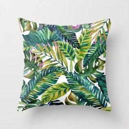 banana life Throw Pillow