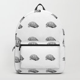 box turtle drawing Backpack