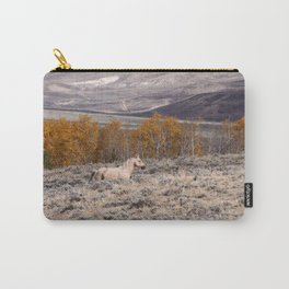 Palomino Roaming the High Plains Carry-All Pouch