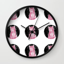 REGRETNOTHING Wall Clock