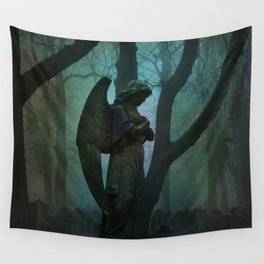 Waiting in Silence Wall Tapestry