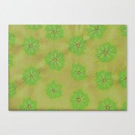 Olive Petal Rose Canvas Print