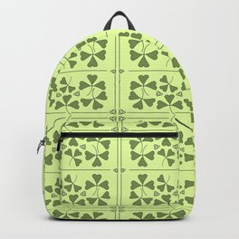 Shamrocks & Trinity Knots Backpack