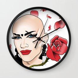 Our New Queen - Sasha Velour Wall Clock