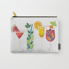 Summer Cocktail Trio Carry-All Pouch