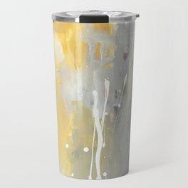 50 Shades of Grey and Yellow Travel Mug