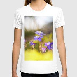 Wildflowers Spring Forest #decor #society6 #buyart T-shirt
