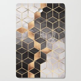Smoky Cubes Cutting Board