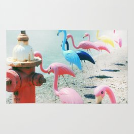 Flamingo Party Rug