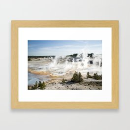 Yellowstone National Park, Wyoming Framed Art Print