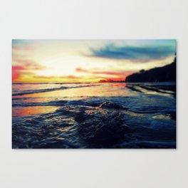 Sunset in Isla Vista Canvas Print