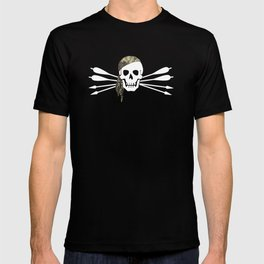 Pirate archer - skull and arrows T-shirt