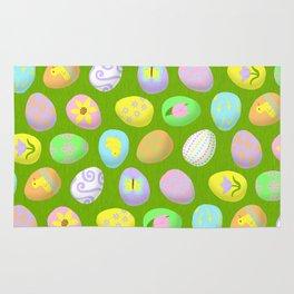 Painted eggs Rug