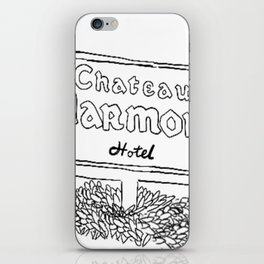 Chateau Marmont Sign iPhone Skin