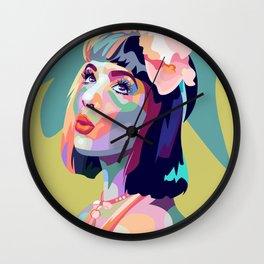 Cry baby Wall Clock