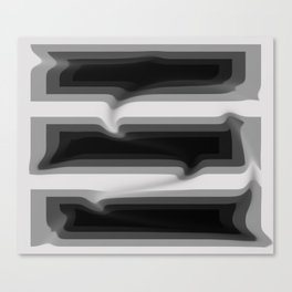Deep Dive - Darker Canvas Print