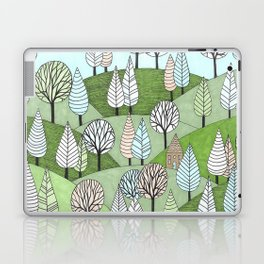 Little Cottage in the Woods Laptop & iPad Skin