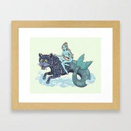 Merleopard Framed Art Print
