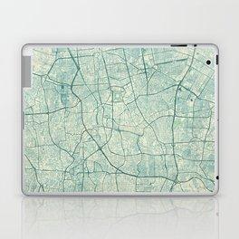 Jakarta Map Blue Vintage Laptop & iPad Skin