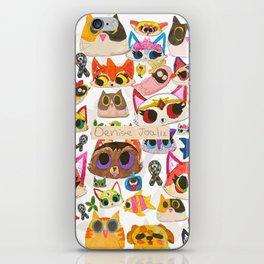 Dibujitos de Denise (Oficial) iPhone Skin