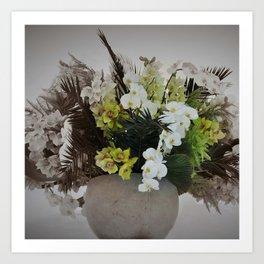 Arreglo floral Art Print
