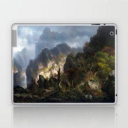 Hermann Herzog Storm in the Mountains Laptop & iPad Skin