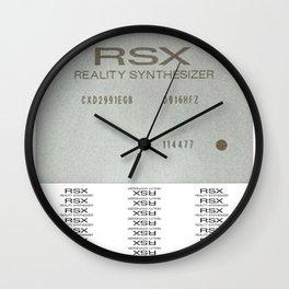RSX  Wall Clock
