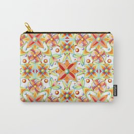 Suzani Textile Pattern Carry-All Pouch