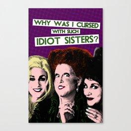 Hocus Pocus - Sanderson Sisters Canvas Print