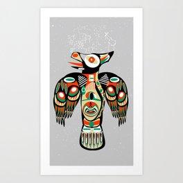 Cherokee Eagle Art Print