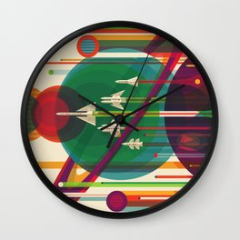 The Grand Tour Wall Clock