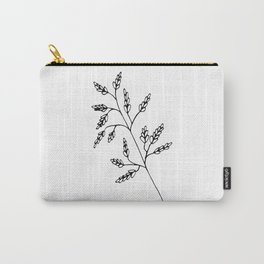Branch White Carry-All Pouch