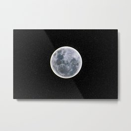 supermoon 12.03.2017 Metal Print