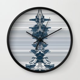 Faces In The Crowd Wall Clock