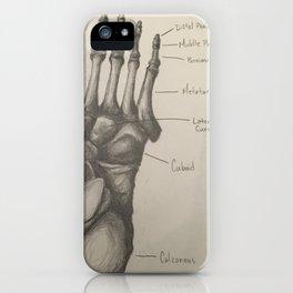 Bones of the Foot iPhone Case