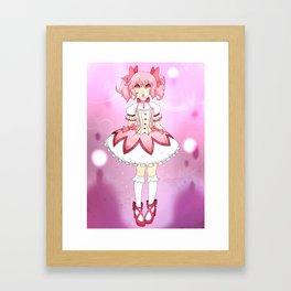 Madoka Framed Art Print