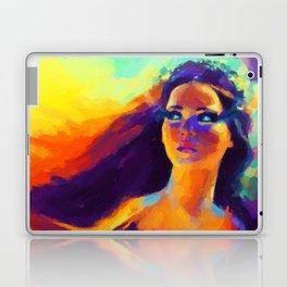 The Girl On Fire Laptop & iPad Skin