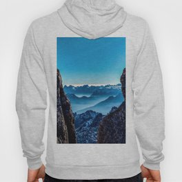 Moutain sky ice blue Hoody