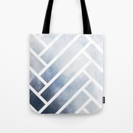 winter herringbone Tote Bag
