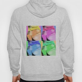 Kylie Minogue Shorts POP Collage Hoody