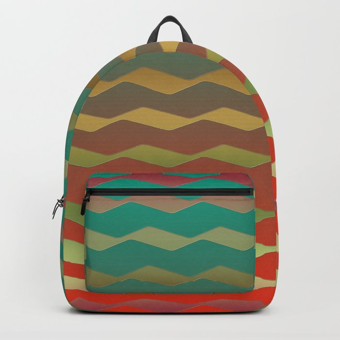 Fire in the woods Backpack