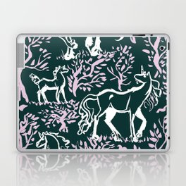 Unicorn Woodland Laptop & iPad Skin