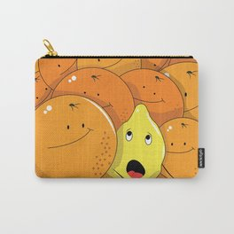Lemon squeezed by Oranges Carry-All Pouch