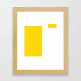 F (original - after the sale will be removed) Framed Art Print