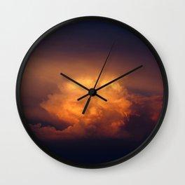 blissful slumber Wall Clock