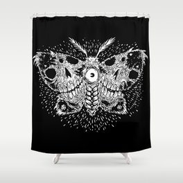 Deathwing Moth Shower Curtain