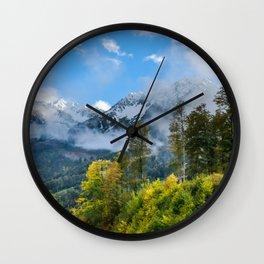 Mount Fisht Wall Clock