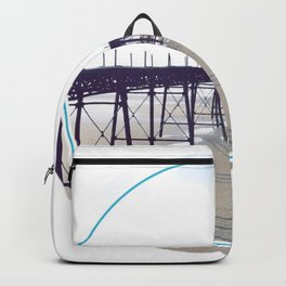 Victorian Pier - circle graphic Backpack