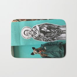 Saint Nick Bath Mat
