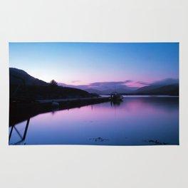 Loch Leven Sunset Rug